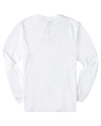 3 Scope Out Long Sleeve T-Shirt White ALYZT00366 Element
