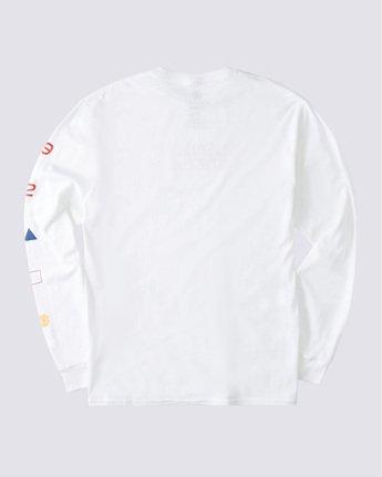 1 Hiro Long Sleeve T-Shirt White ALYZT00367 Element
