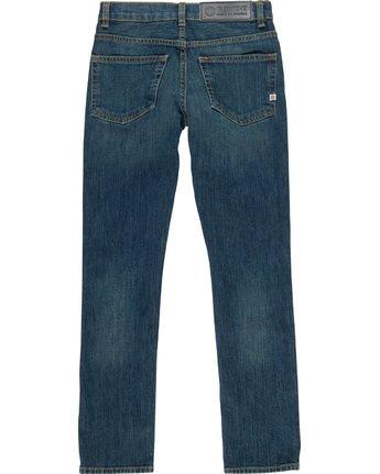 3 Boy's E01 Slim Fit Jeans Blue B351QEE1 Element