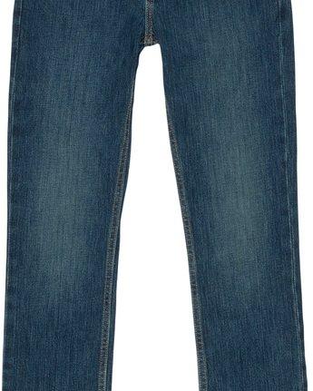 2 Boy's E01 Slim Fit Jeans Blue B351QEE1 Element