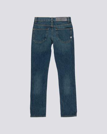1 Boy's E01 Slim Fit Jeans Blue B351QEE1 Element