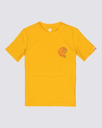 0 Boys' Frisco T-Shirt Yellow B4011EFR Element