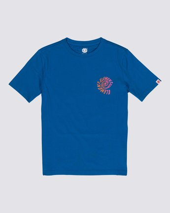 0 Boys' Frisco T-Shirt Blue B4011EFR Element
