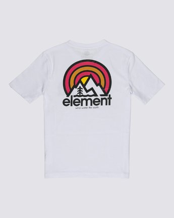1 Boys' Sonata T-Shirt White B4012ESO Element