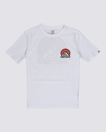 0 Boys' Sonata T-Shirt White B4012ESO Element