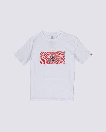 0 Boys' Vogel T-Shirt White B4012EVO Element