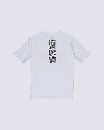 1 Boys' Vogel T-Shirt White B4012EVO Element