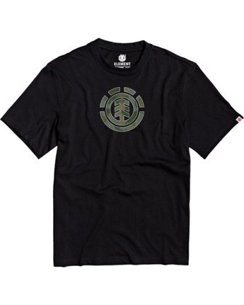 1 Boys' Water Camo T-Shirt Blue B4013EWA Element