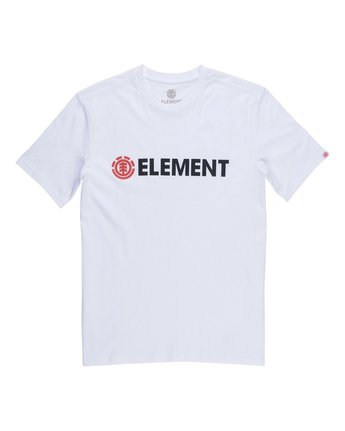 1 Blazin Boys Tee White B401QEBZ Element
