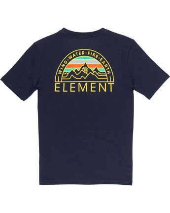3 Odyssey Boys Tee Blue B401VEOD Element