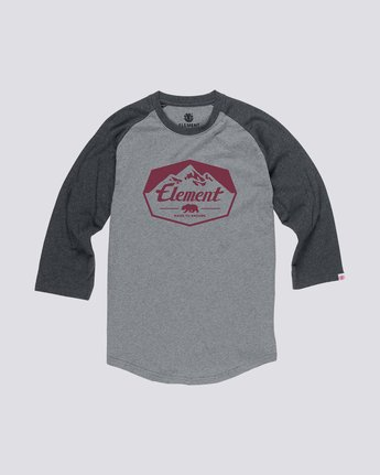 0 JOURNEY BOYS RAGLAN Grey B470QEJR Element