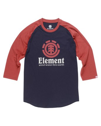 1 Boy's Vertical Raglan Tee  B470QEVR Element
