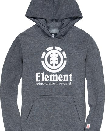 1 Vertical Boys Hoodie Grey B644TEVH Element