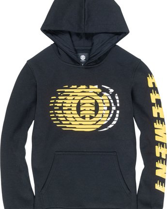 1 Boy's Victory Hoodie Black B651VEVI Element
