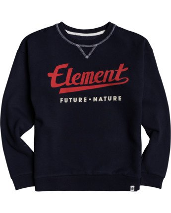 1 Boys' Go Up Crew Neck Pullover Blue B6823EGO Element