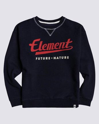 0 Boys' Go Up Crew Neck Pullover Blue B6823EGO Element