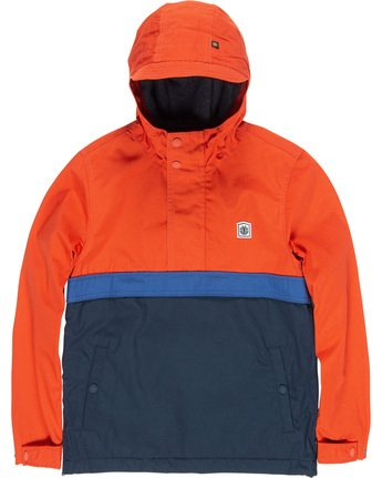 1 Boys' Barrow 3Tones Jacket Blue B709VEB3 Element