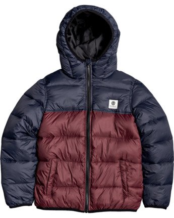 1 Boys' Alder Avalanche Jacket Multicolor B7153EAA Element