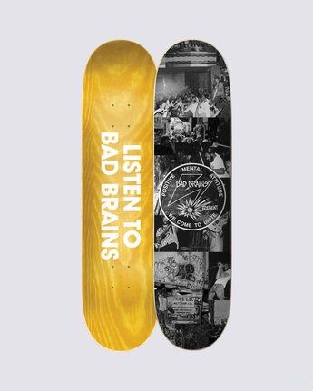 0 Bad Brains x BJ Papas Skateboard Deck  BDLG3BBJ Element