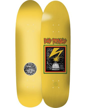 2 Bad Brains Album Skateboard Deck  BDLG3BYL Element