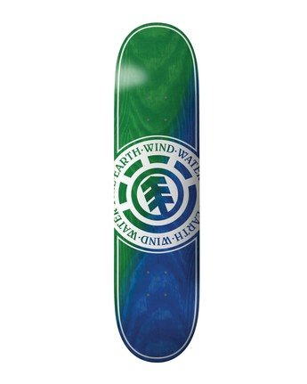 1 Seal Green Blue Skateboard Deck  BDLG3RGB Element