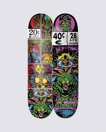 0 Cosmic Traveler Jaakko Skateboard Deck  BDPR3LSJ Element
