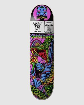 4 Hathor Westgate Skateboard Deck  BDPR3LSW Element