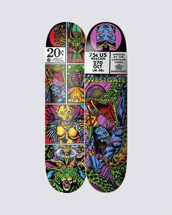 1 Hathor Westgate Skateboard Deck  BDPR3LSW Element