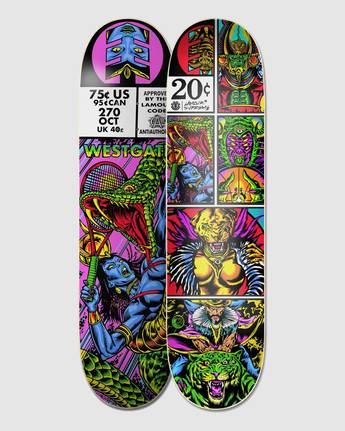 2 Hathor Westgate Skateboard Deck  BDPR3LSW Element