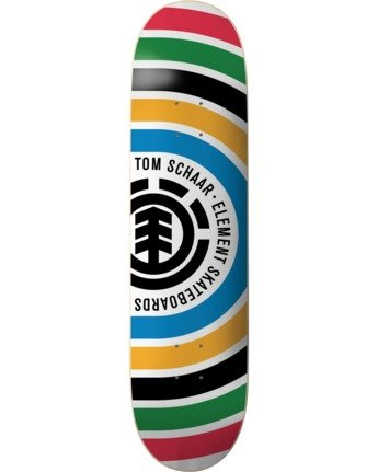 1 Schaar Rings Skateboard Deck  BDPR3TSR Element