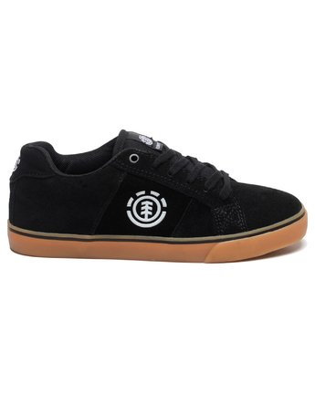 1 Boy's Winston Shoes Black BFCTQEWI Element
