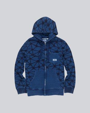 Indigo Fleece Zh - Fashion Fleece for Men F1FLC3ELF7