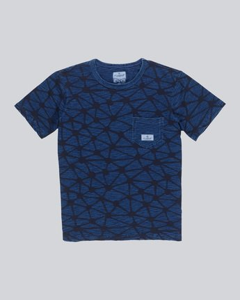 Indigo Cr Ss - Knit for Men F1KTB6ELF7
