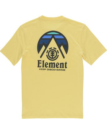 3 Tri Tip Ss - maglietta da Uomo Yellow F1SSC3ELF7 Element
