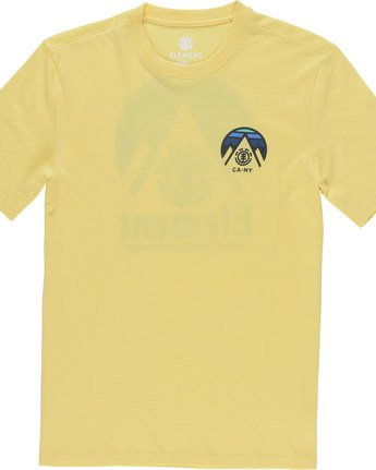 2 Tri Tip Ss - Tee Shirt for Men Yellow F1SSC3ELF7 Element