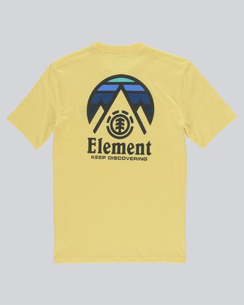 1 Tri Tip Ss - Tee Shirt for Men Yellow F1SSC3ELF7 Element