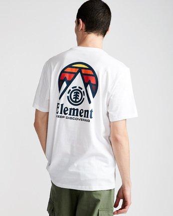 2 Tri Tip Ss - T-Shirt pour Homme Blanc F1SSC3ELF7 Element