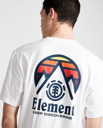 3 Tri Tip Ss - T-Shirt pour Homme Blanc F1SSC3ELF7 Element