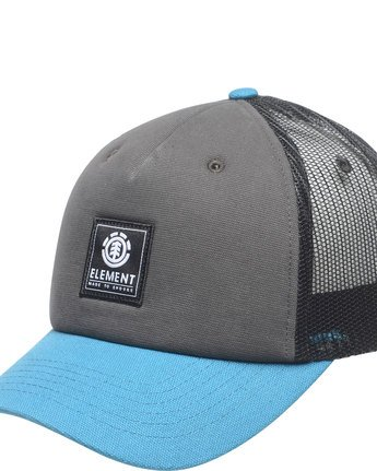 1 Icon - Mesh Cap for Men Blue F5CTA3ELF7 Element
