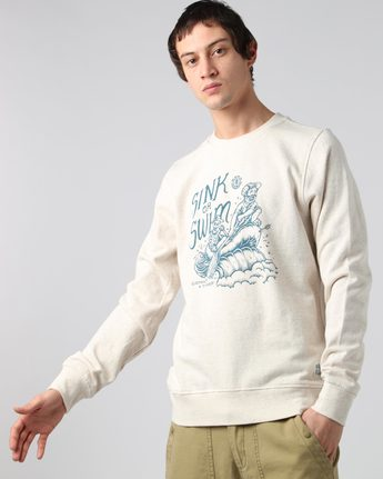 1 Rafters Crew - Fleece for Men  H1CRB3ELP8 Element