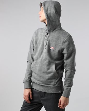 0 Highland Henley - Fashion Fleece for Men  H1FLB5ELP8 Element