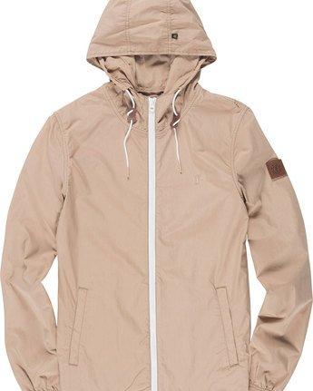 4 Alder Poplin - Jacket for Men Gray H1JKA8ELP8 Element