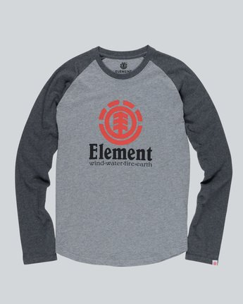 0 Vertical Raglan Qtr - Tee Shirt for Men  H1LSA3ELP8 Element