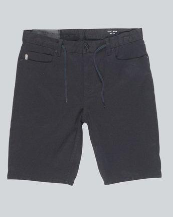 4 E02 Color Wk - shorts pour Homme Noir H1WKA3ELP8 Element