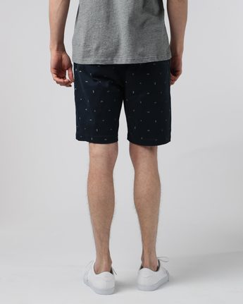 3 Altona Print Wk - walkshort da Uomo Blue H1WKB2ELP8 Element