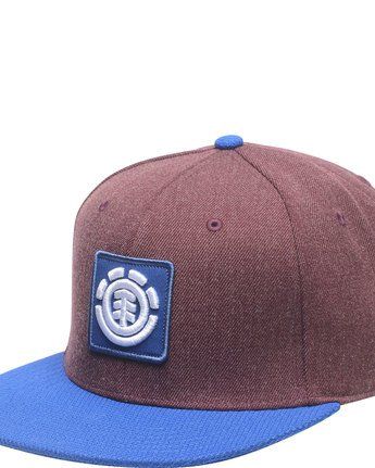 1 United Cap B - Head Wear for Men Rot H5CTA9ELP8 Element