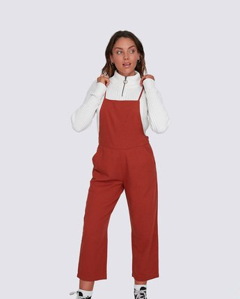 0 Darcie Jumpsuit Brown J3033EDA Element