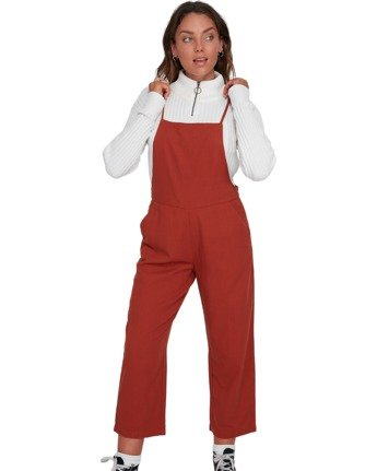 2 Darcie Jumpsuit Brown J3033EDA Element
