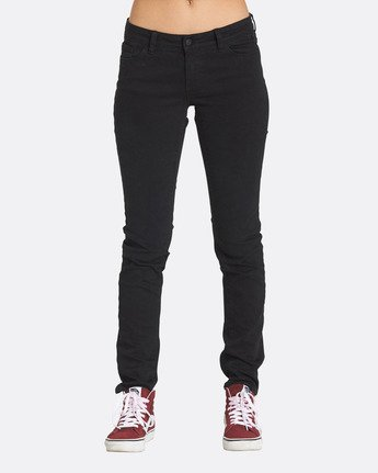 0 Sticker Jeans Black J304QEST Element