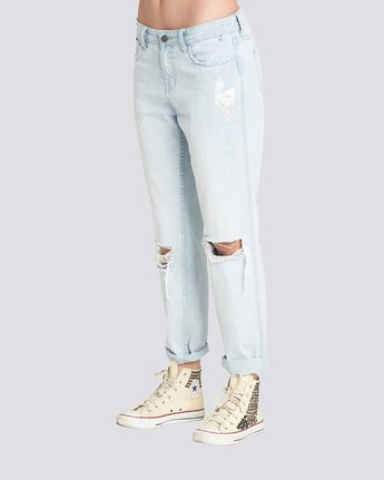 2 Listen Up Jeans Grey J324QELI Element